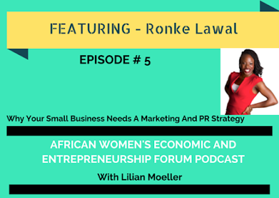 Podcast Interview with The African Women's Economic & Entrepreneurship Forum