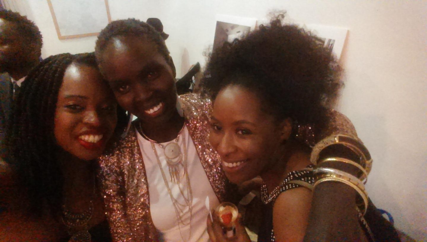 Here I am with Marianne Miles and Panelist Nyakor Riam