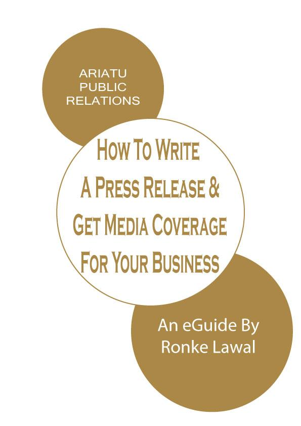 Tips for writing a great media release