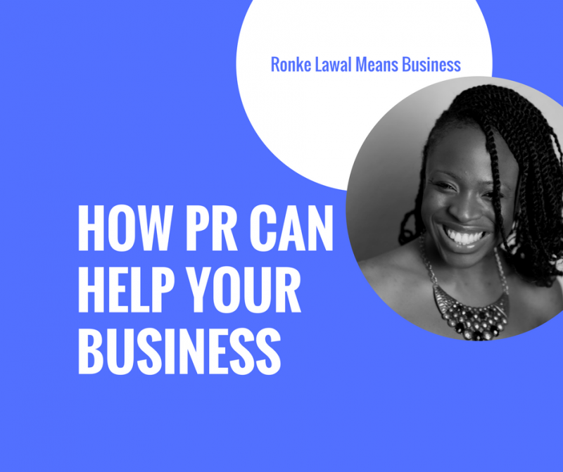 How PR Can Help Your Business
