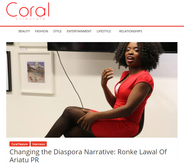 Changing the diaspora narrative with PR!