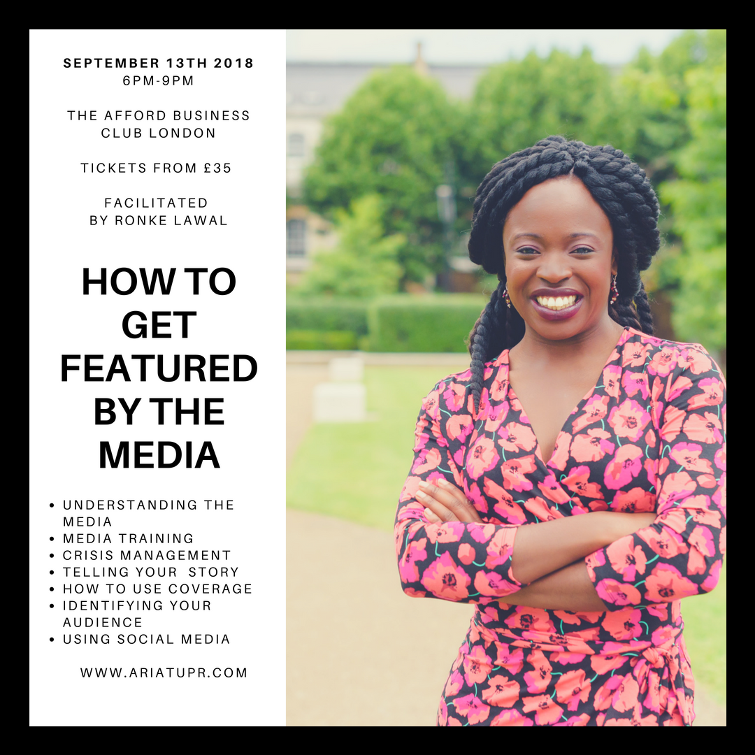 How To Get Featured by The Media
