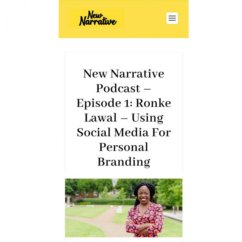 New Narrative Magazine