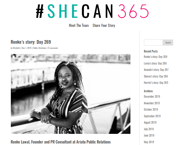 #SheCan365